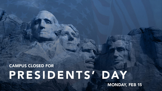 President's Day Closure