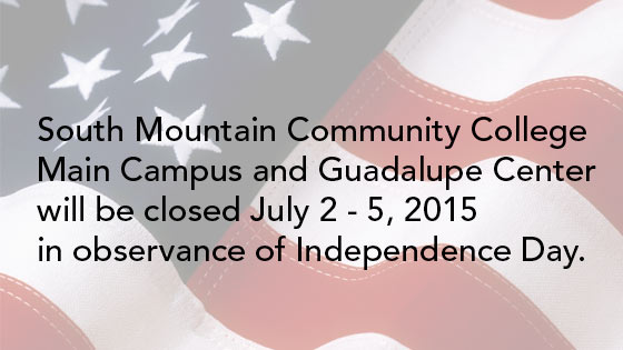 Campus Closed in Observance of Independence Day
