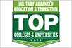 Top Military Advance Education
