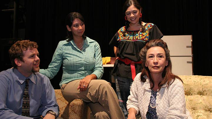 A Mother's Will Production Image