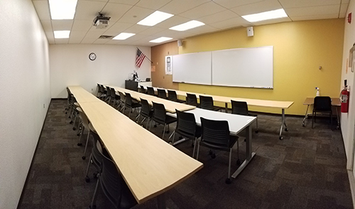 Classroom for breakout sessions LA