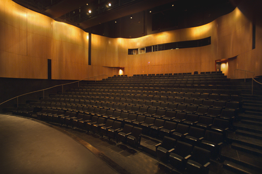 The PAC auditorium