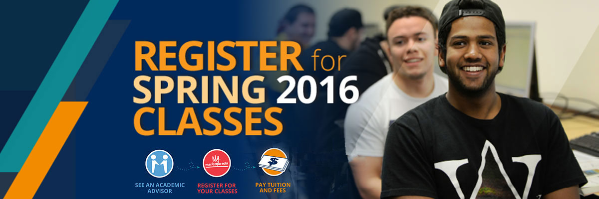 Register for Spring 2016 Classes