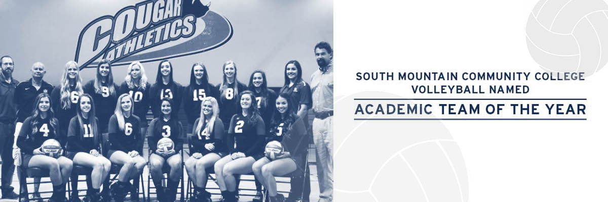 SMCC Volleyball Named Academic Team of the Year!