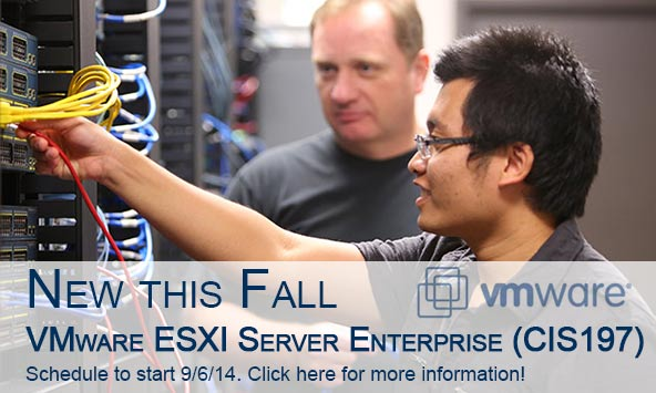 Register for CIS 197: VMware ESXI Server Enterprise