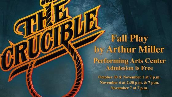 The Cruicible: SMCC Fall Play