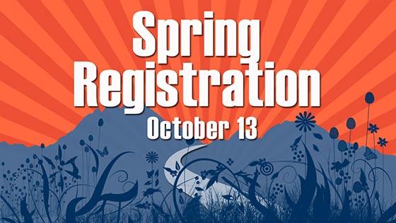 Spring Registration