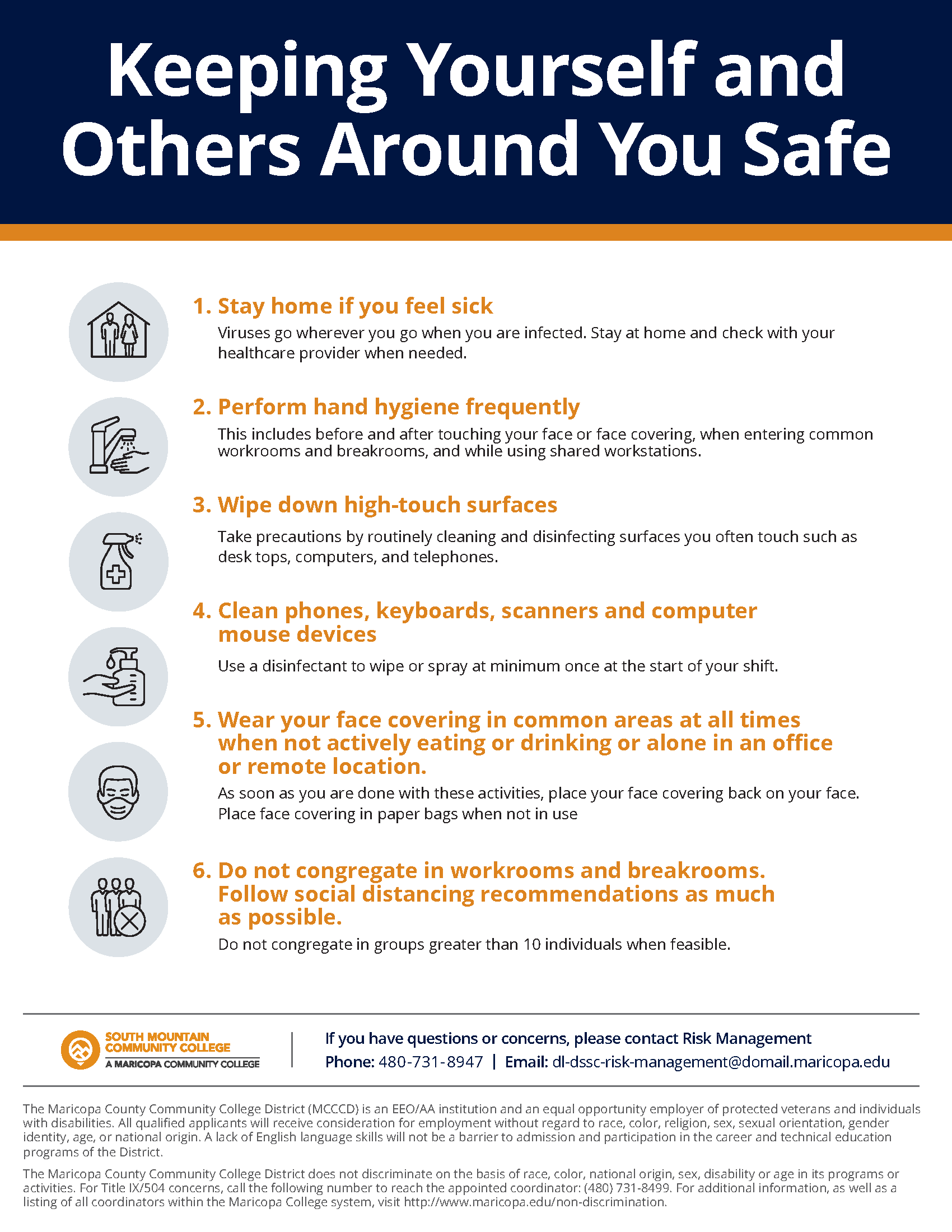 Keeping Yourself and Others Around You Safe